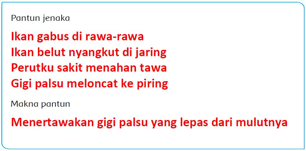 Kunci Jawaban Halaman 44, 45, 46, 47, 50, 51, 52 Tema 4 Kelas 5