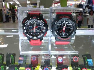 jam tangan Digitec Digitec dual time Asli Original