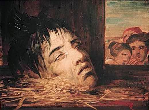 Antoine Wiertz - Guillotined Head