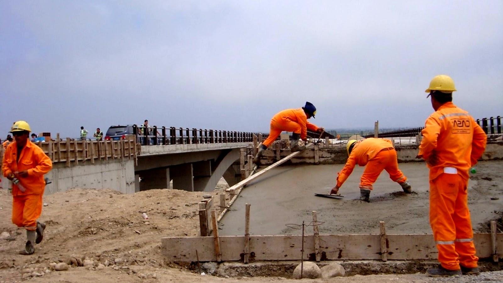 31 obras públicas reinician actividades en Perú