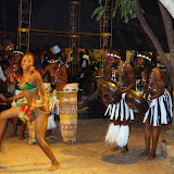 Traditional dancing at Boma