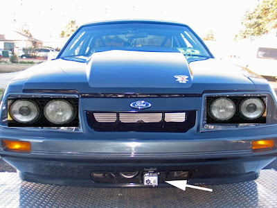 4 Eyed Mustang With Round Headlights Off Topic