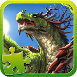Dragons Jigsaw Puzzle Icon