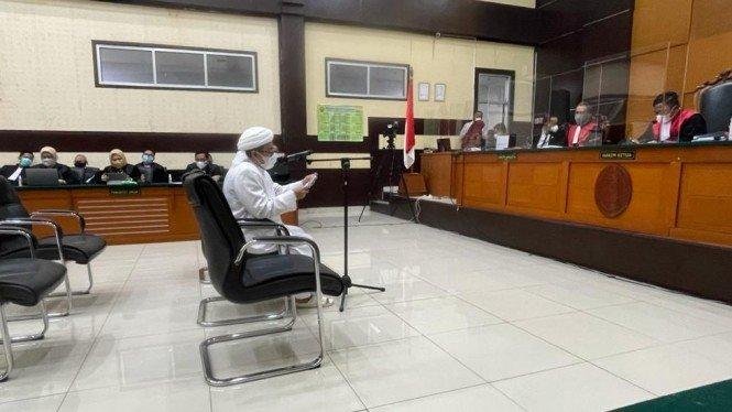 Habib Rizieq: Saya Diperlakukan Seperti Tahanan Ter0ris