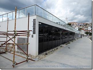 Croatia Cruising Companion - Marina Novi Buildings