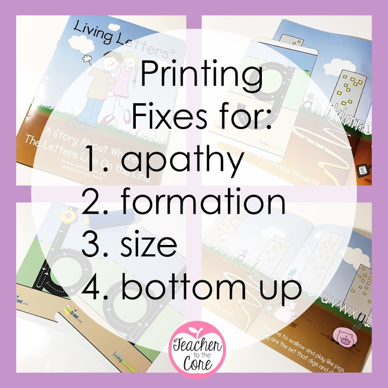 Get neater printing right away with these 6 tips, tricks, and freebies from Katie Knight at Teacher to the Core