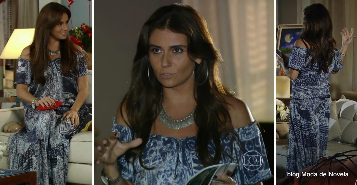 moda da novela Em Família - look da Clara dia 12 de maio