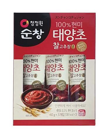 Hot Pepper Paste Gochujang 180g Chung Jung One