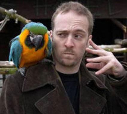 Derren Brown Magic Parrot, Derren Brown