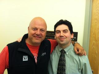 Geno with Michael Chiklis