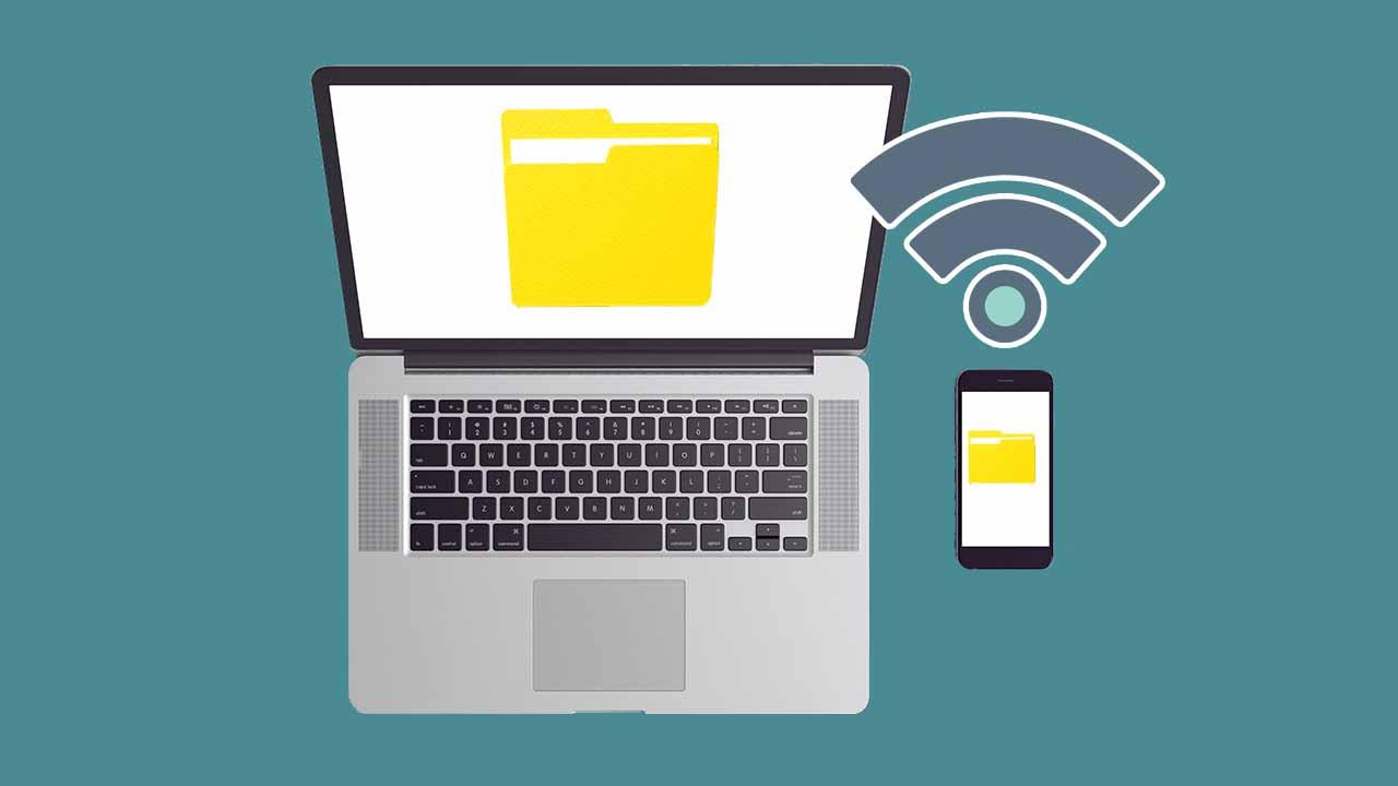 Mengirim File dari HP ke Laptop lewat Wifi