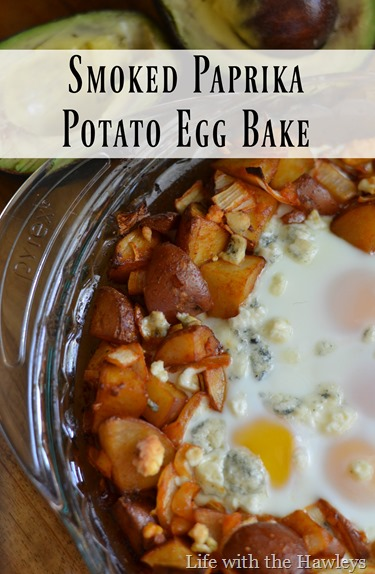 Smoked Paprika Potato Egg Bake