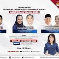 Debat Cabup-Cawabup Karawang Besok di Jatah 90 Menit