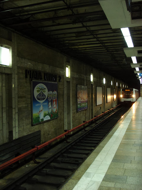 Train entering 2
