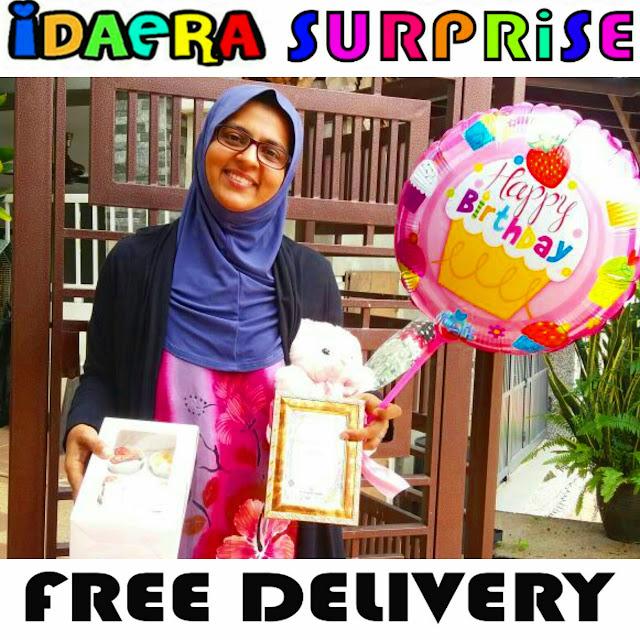 IdaEra Cupcakes & Cookies: SURPRISE DELIVERY DI SHAH ALAM