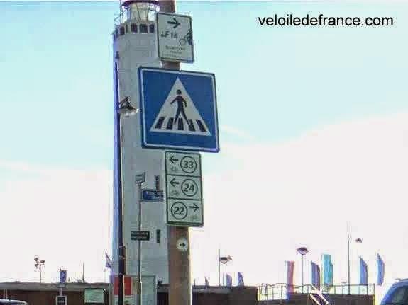 "Panneaux cyclistes ""noeud"", Pays-Bas"