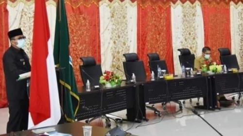 Wali Kota Hendri Septa Buka Sosialisasi LHKASN 2021