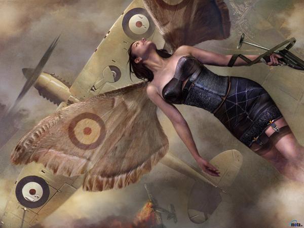 Pleasant Faerie Woman, Fairies Girls 2