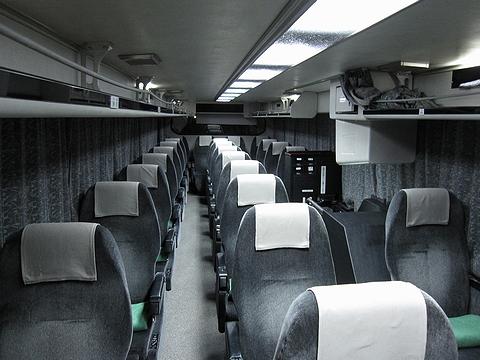 いわさきバスネットワーク「桜島号」・437 車内
