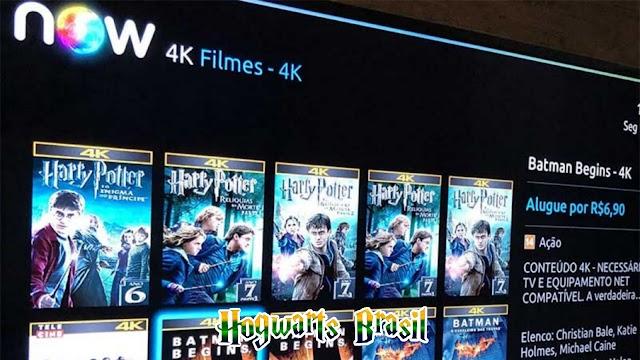 NOW oferece todos os filmes de Harry Potter em 4K