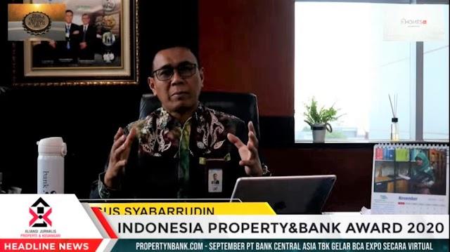 Indonesia Property and Bank Award 2020, Bank Kalsel Raih Penghargaan Penyaluran KPR Subsidi