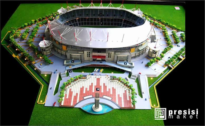 jasa pembuatan maket stadion