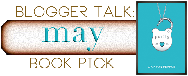 Blogger Talk: Discussion & Giveaway for Purity by Jackson Pearce