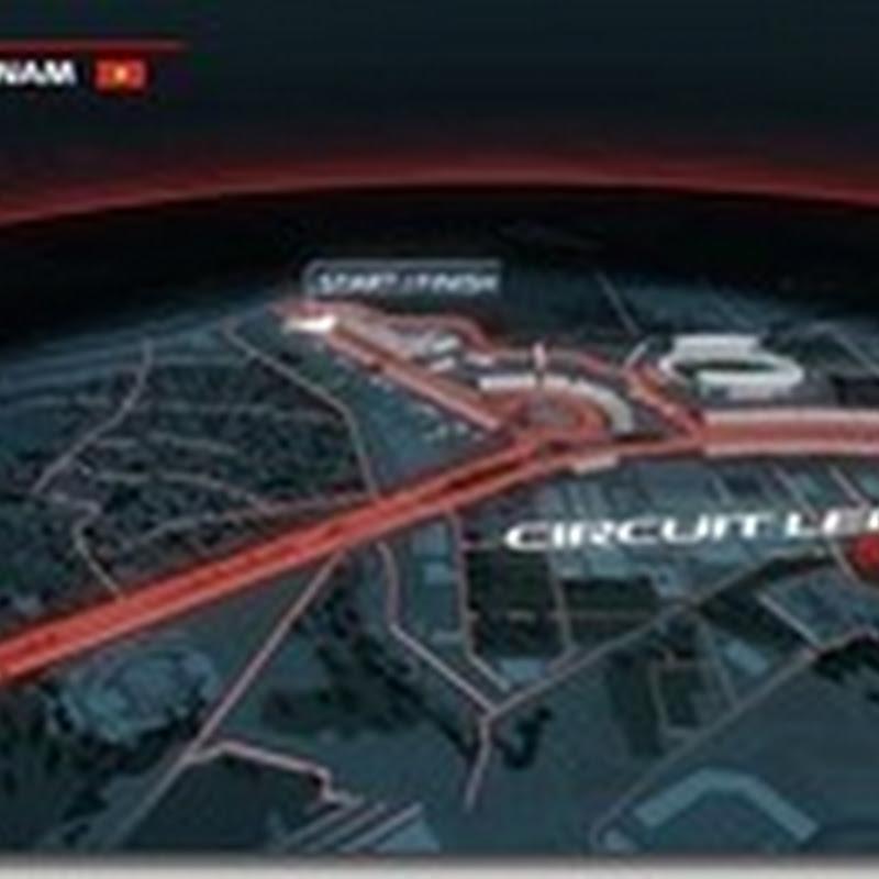 Vietnam entra nel calendario di F1 nel 2020