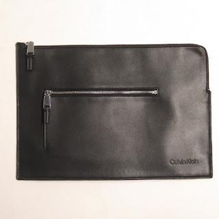 Calvin Klein Two-Pocket Pouch