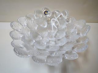 Royal Copenhagen Crystal Seashell Dish