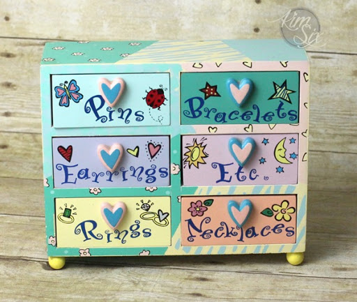 A Childs Jewelry Box Grows Up The Kim Six Fix