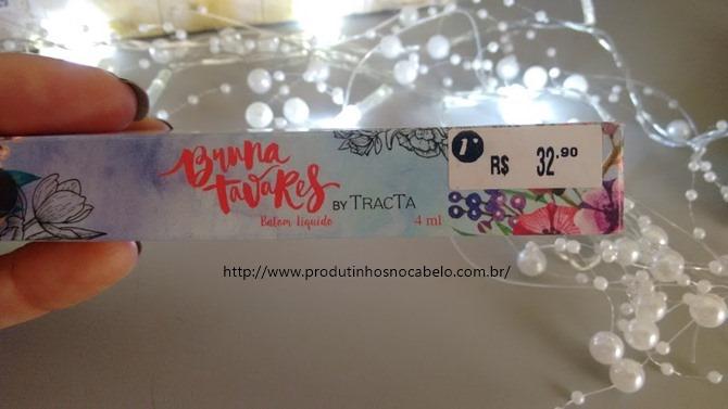 Batom Tracta por Bruna Tavares