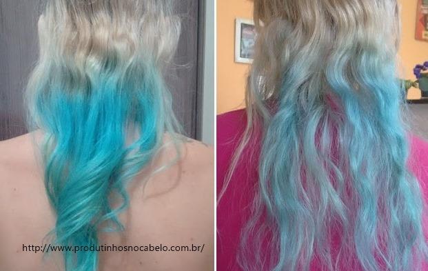 cabelo unicórnio