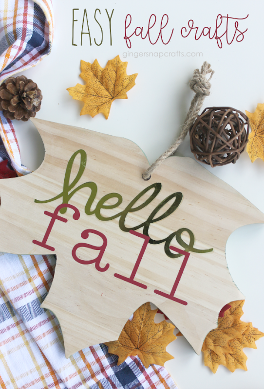 Easy Fall Crafts with the EasyPress2 #cricut #cricutmade #cricutmaker