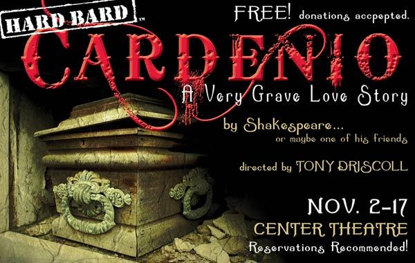 Cardenio: A very grave love story
