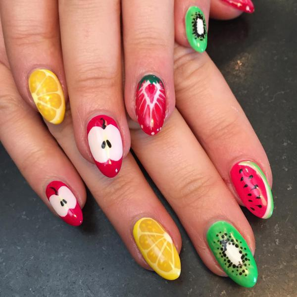 Awesome Fruit Nail Art Designs Ideas 2017 Styles Art