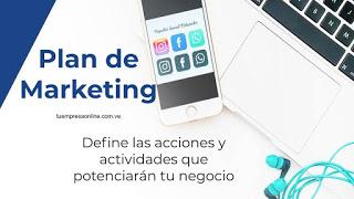 plantilla plan de marketing 2021