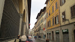 Yet it had just finished raining in Florence