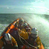 The ILB en route to assist a group of kayakers off Hook Sands - 12 April 2015