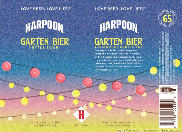 Harpoon Adding Garten Bier Kettle Sour 16oz Cans
