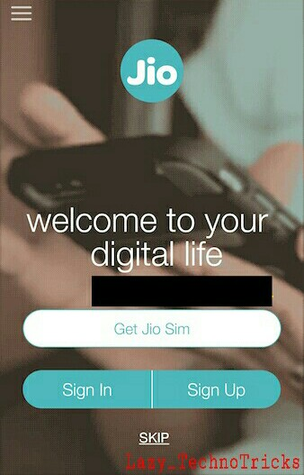Get Free Reliance Jio 4G Sim With Unlimited Data For 3