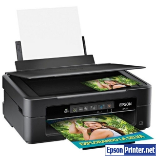 How to reset Epson XP-211 printer