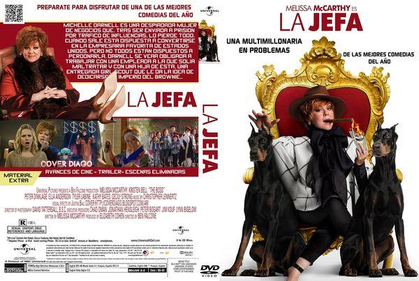 Es La Jefa – Castellano, Inglés – DVD9