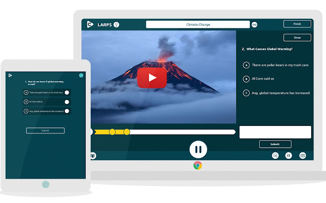 Spiral Clip: Turns videos into live quizzes