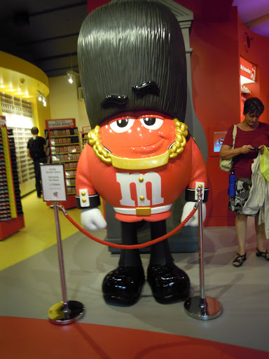 M&M World. From Important and Little-Known London Memorials and Statues