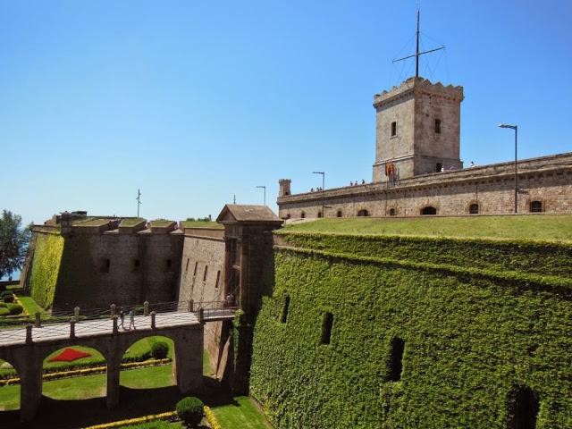 Entrada al Castillo de Montjuïc