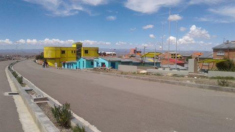 Villa Cooperativa 1986): zona del distrito 14 de El Alto