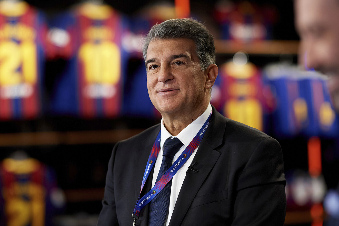 CONGRATS!! Joan Laporta Elected President Of Barcelona For A Second Time