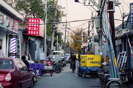 Narrow streets of Beijing