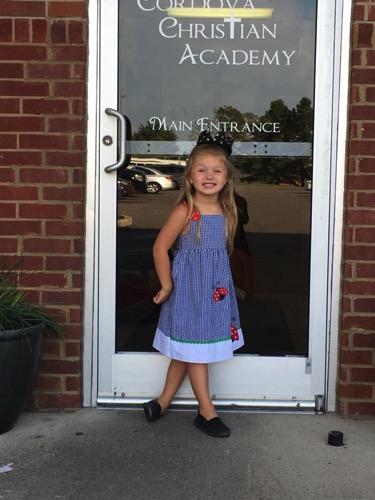 Harper at Kindergarten 1